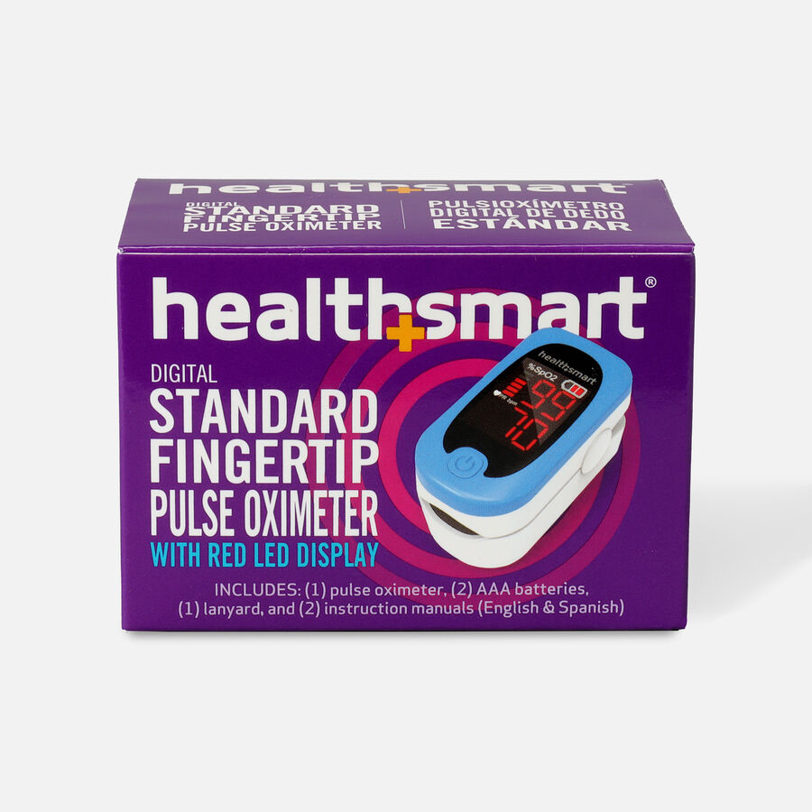 HealthSmart Pulse Oximeter Standard with Red LED Display, , large image number 0