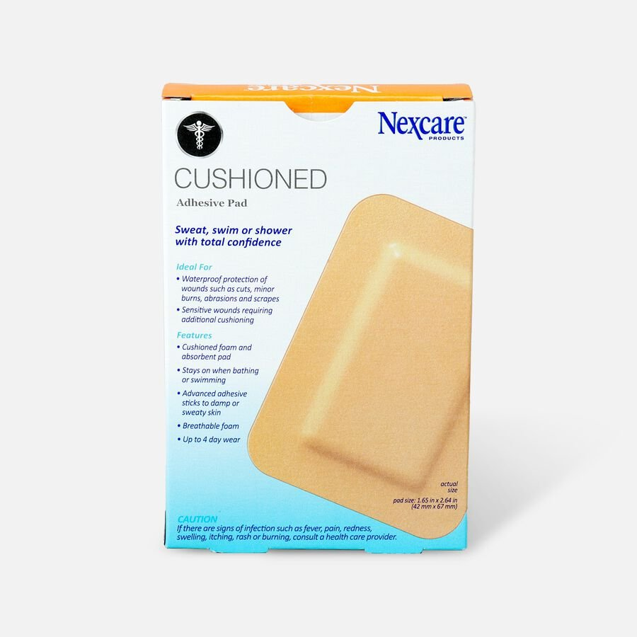 """Nexcare Absolute Waterproof Adhesive Pads, 3"""" x 4"""" - 4ct, , large image number 1"""