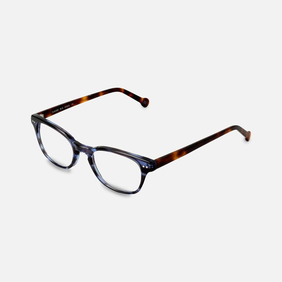 eyeOs Blue Claude Premium Reading Glasses, , large image number 2