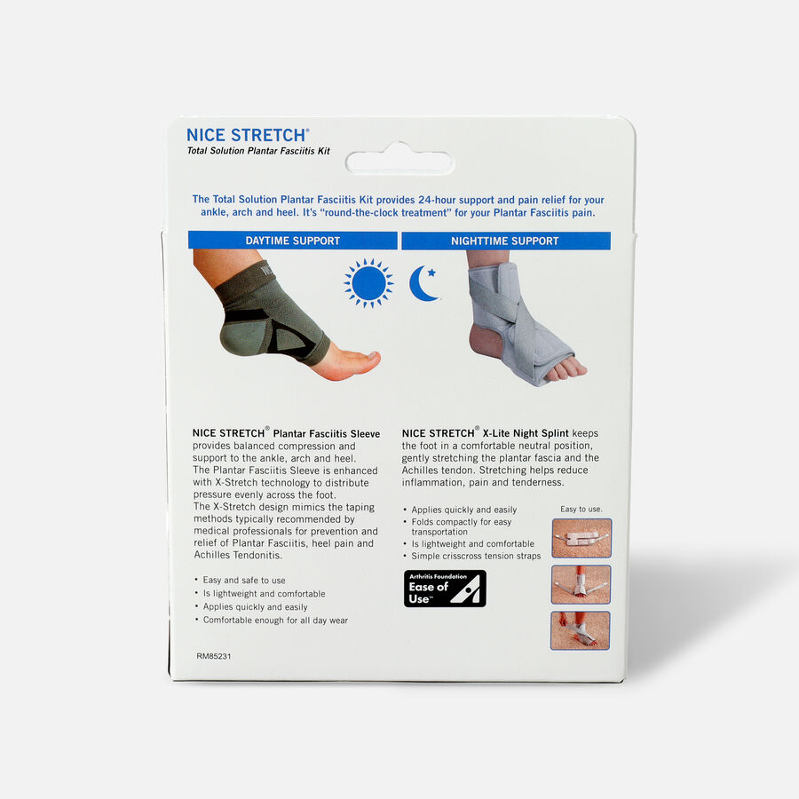 Nice Stretch Total Solution Plantar Fasciitis Relief Kit, , large image number 1