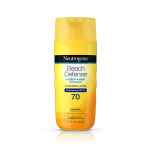 Neutrogena® Beach Defense® Sunscreen Lotion Broad Spectrum SPF 70, 6.7 Oz