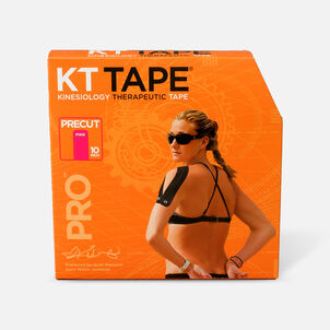 KT Tape Pro Jumbo Precut Tape, 150 Precut Strips