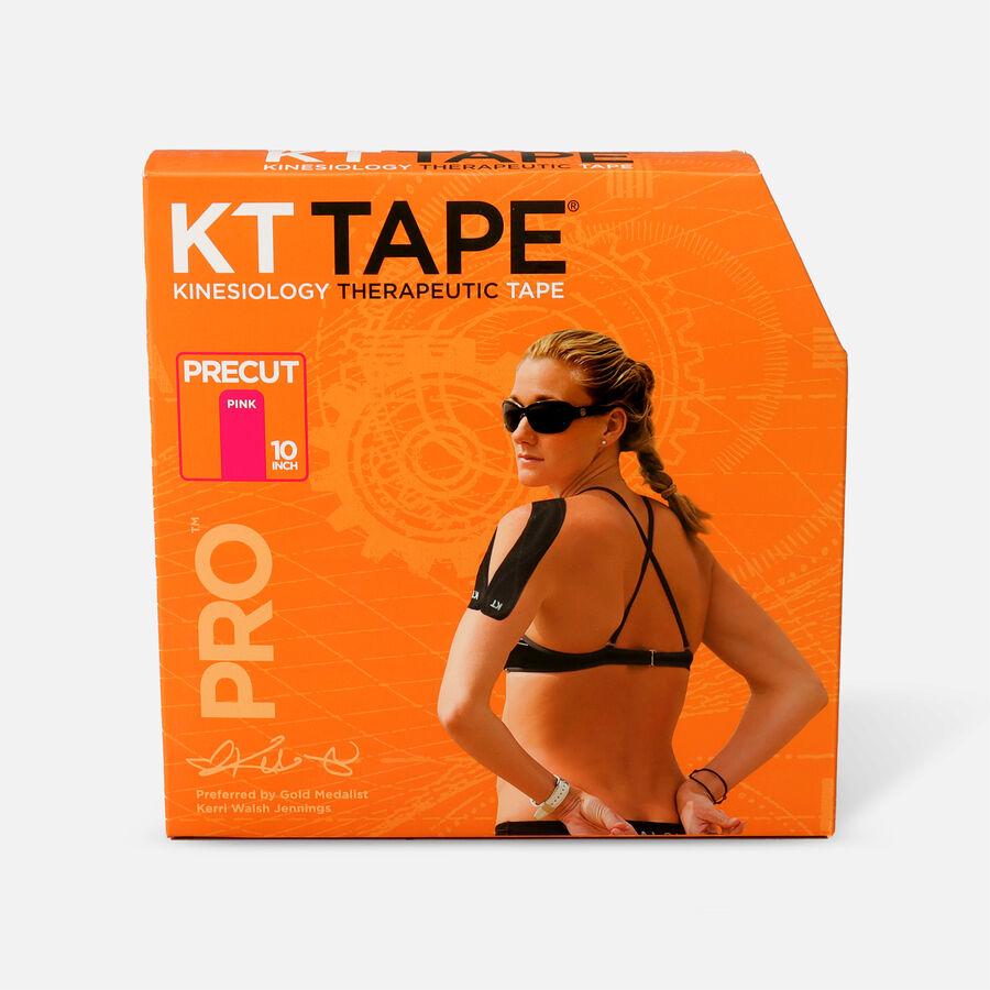 KT Tape Pro Jumbo Precut Tape, Pink, 150 Precut Strips, Pink, large image number 0
