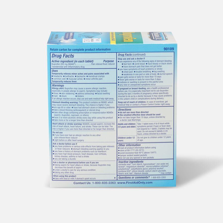 PhysiciansCare Ibuprofen, 250/Box, , large image number 1