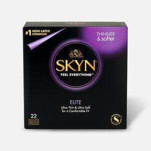 Lifestyles SKYN Elite Non-Latex Condoms, 22 Count