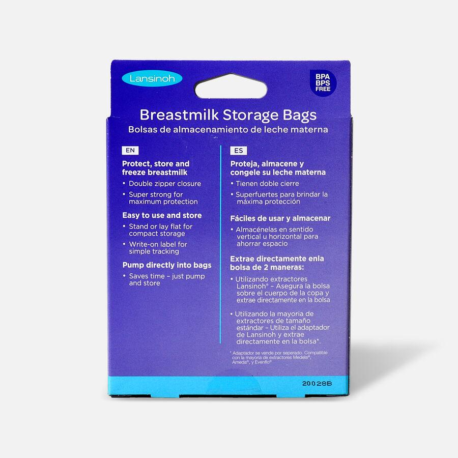 Lansinoh breastmilk storage bags, , large image number 1