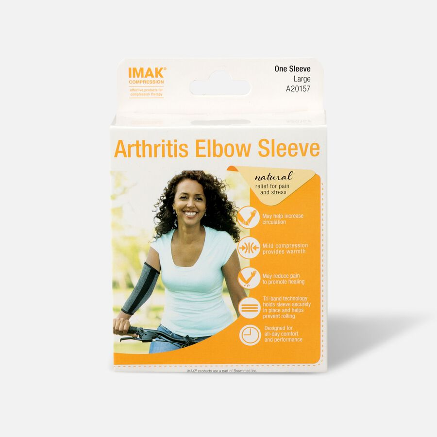 IMAK Compression Arthritis Elbow Sleeve, , large image number 2
