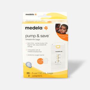 Medela Pump & Save Breast Milk Bags, 20 pack