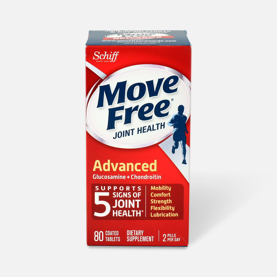 Schiff Move Free Advanced Joint Health Tablets, 80 Count, , large image number 0