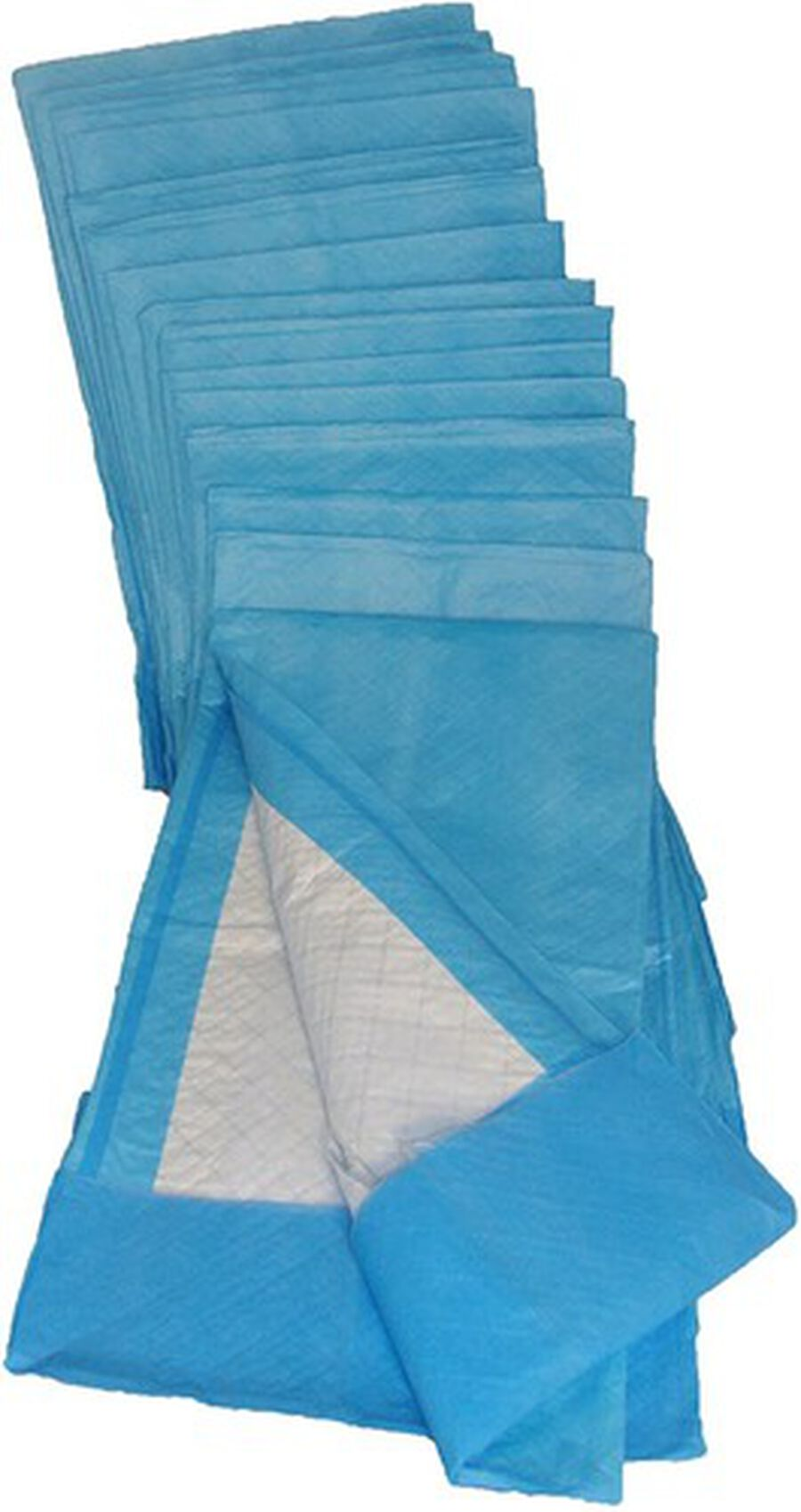 """Pharma Supply Disposable Quilted Fluff Underpad 23"""" x 36"""", Blue, Water-proof, Latex-free (45 g) (Pack of 50), , large image number 0"""