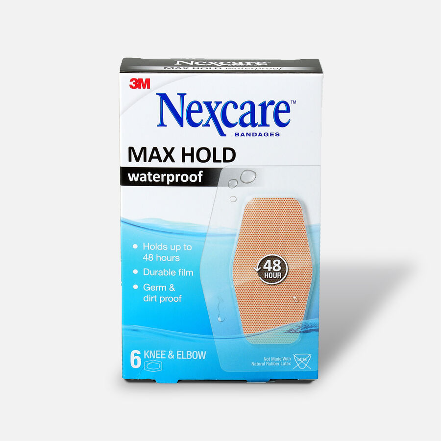 Nexcare Max Hold Knee and Elbow Bandage - 6ct, , large image number 0