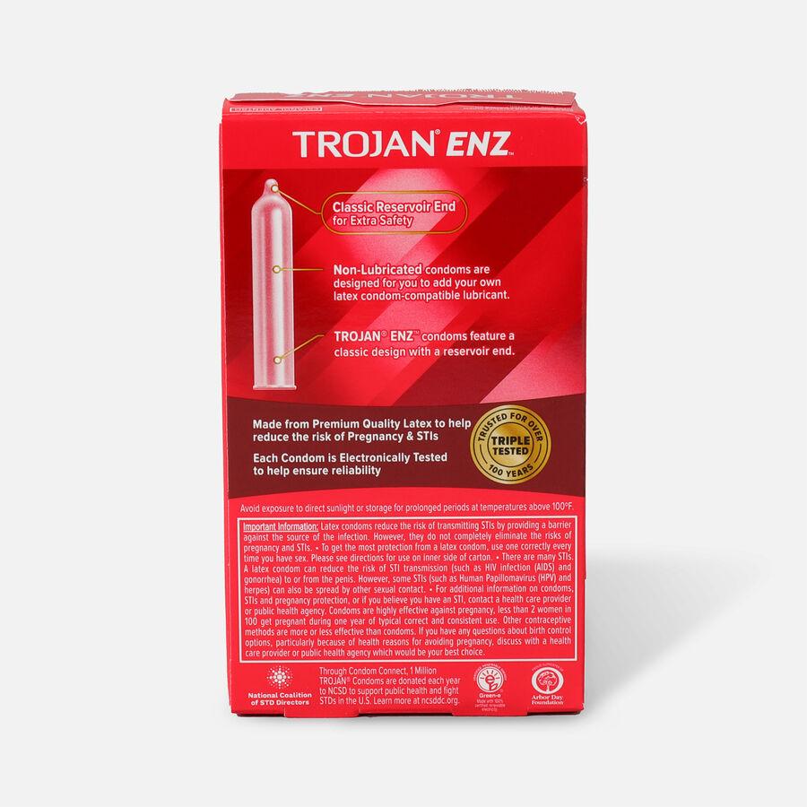 Trojan Non-Lubricated Latex Condoms, 12 ea, , large image number 1