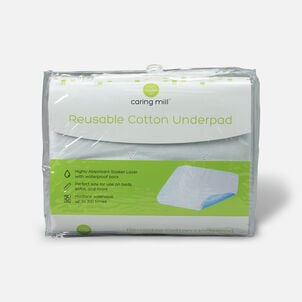 Caring Mill™ Reusable Cotton Underpad
