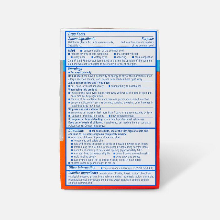 Zicam Cold Remedy Nasal Spray, 0.5 fl. oz., , large image number 2