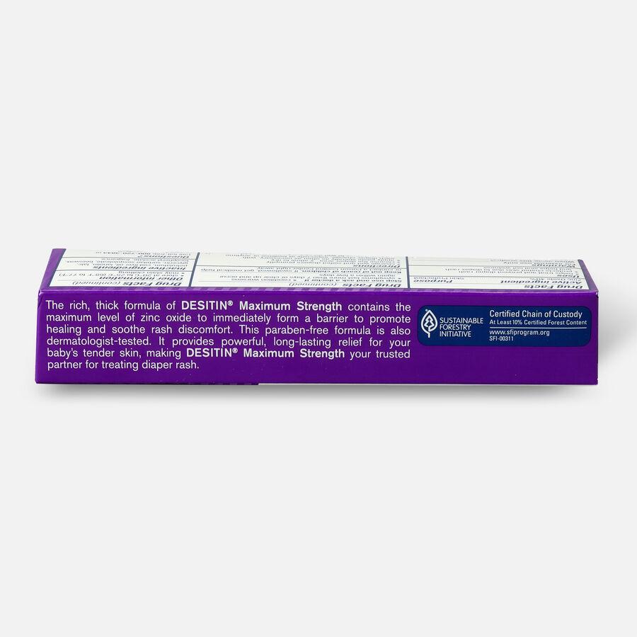 Desitin Maximum Strength Zinc Oxide Diaper Rash Paste, , large image number 3