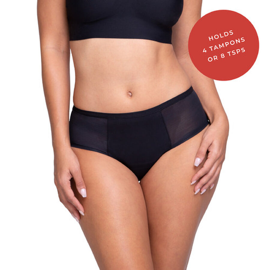 Proof® Leak & Period Underwear - Mesh Hipster (4 tampons / 8 tsps), , large image number 4