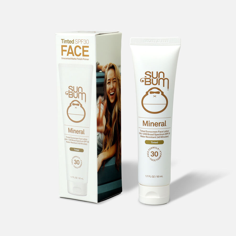 Sun Bum SPF 30 Mineral Sunscreen Tinted Face Lotion, 1.7 oz, , large image number 2