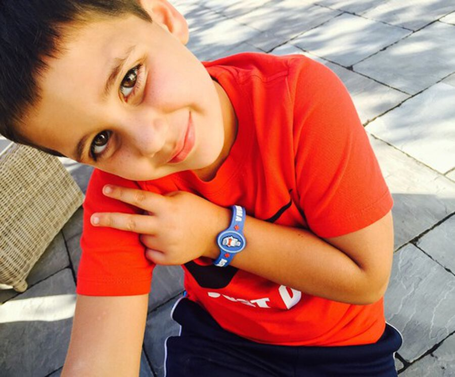 AllerMates Children's Allergy Alert Bracelet - Asthma, , large image number 1