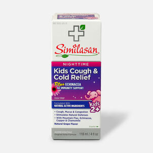 Similasan Kids Cough & Cold Relief, Nighttime Syrup, 4 fl. oz.