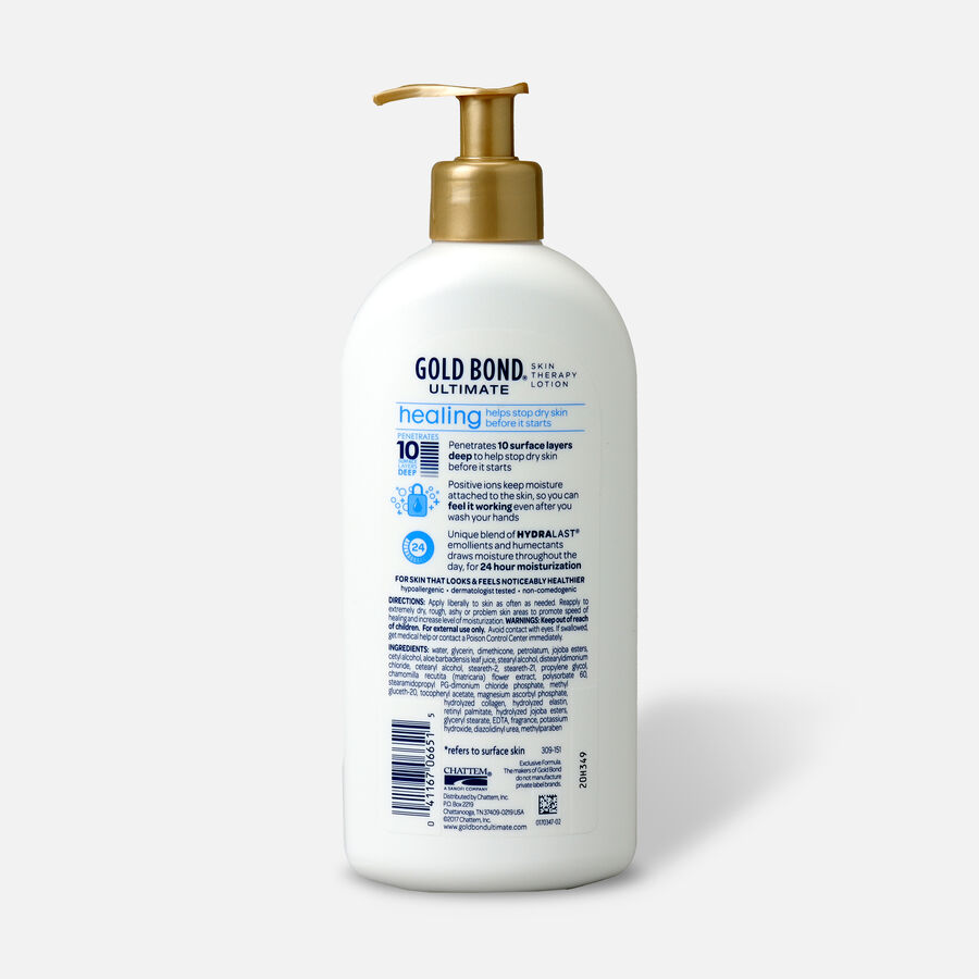 Gold Bond Ultimate Healing Skin Therapy Lotion, Aloe, 14 oz, , large image number 1