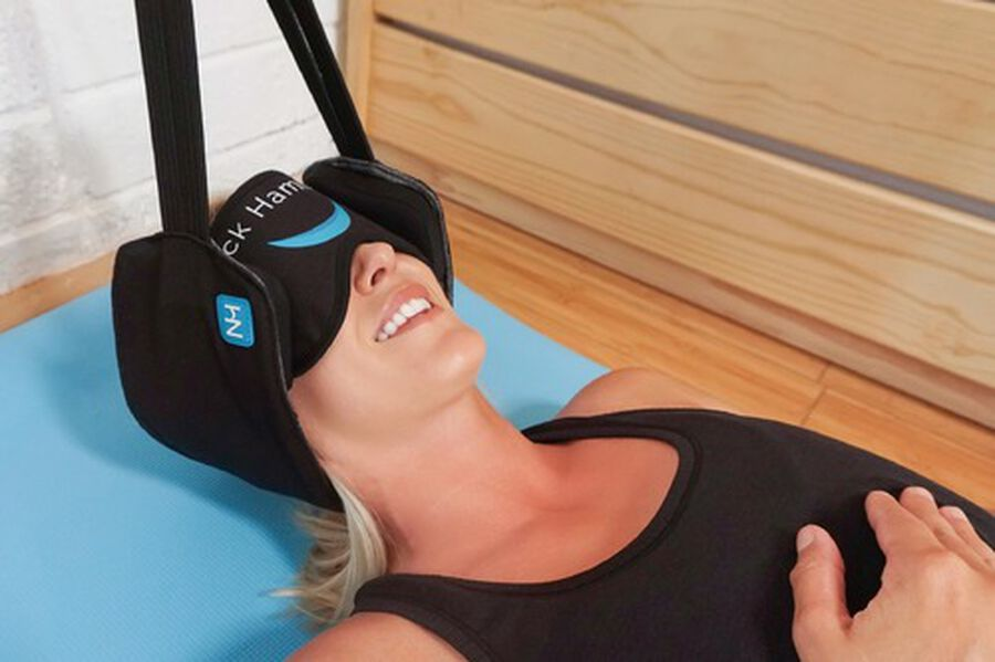 The Neck Hammock, Portable Cervical Traction Device, , large image number 4
