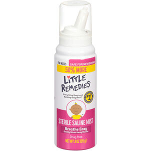 Little Noses Saline Mist Spray, 3 oz