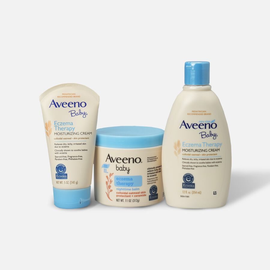 Aveeno Baby Eczema Therapy Moisturizing Cream, , large image number 0