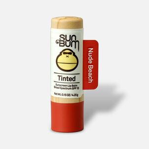 Sun Bum SPF 15 Tinted Lip Balm, Nude Beach, .15 oz