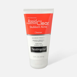 Neutrogena Rapid Clear Stubborn Acne Cleanser, 5oz.