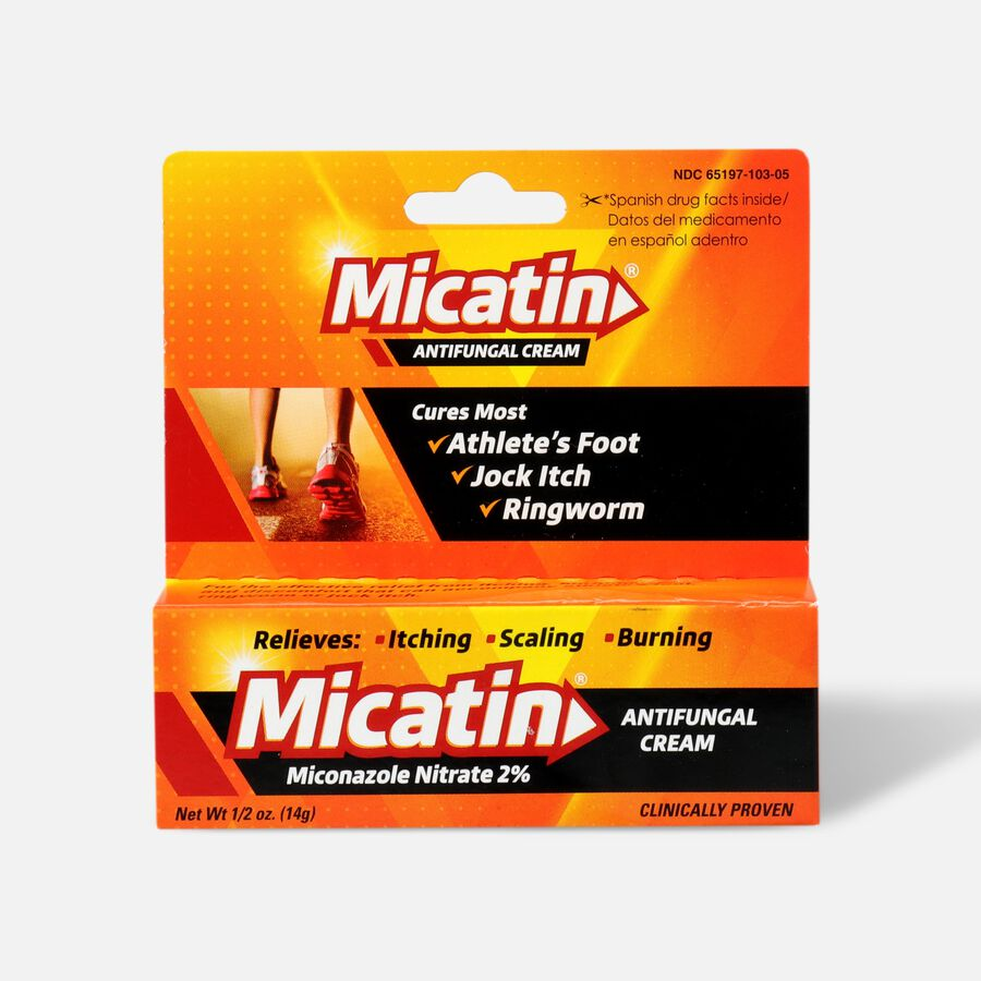 Micatin Antifungal Cream, 0.5 oz, , large image number 0
