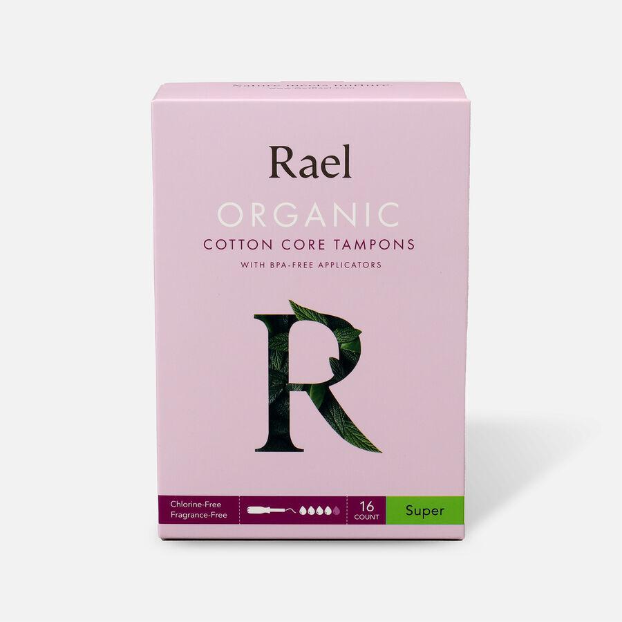 Rael Organic Cotton Core Tampons with BPA-Free Applicators, , large image number 6