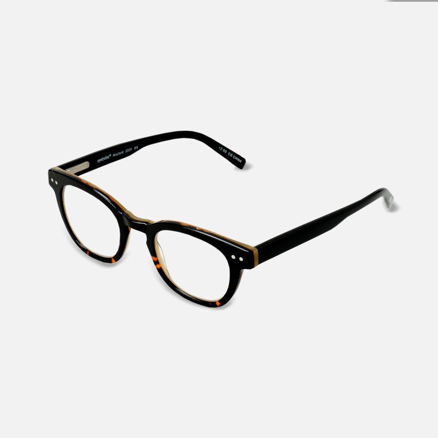 EyeBobs Waylaid Reading Glasses, Black, , large image number 6