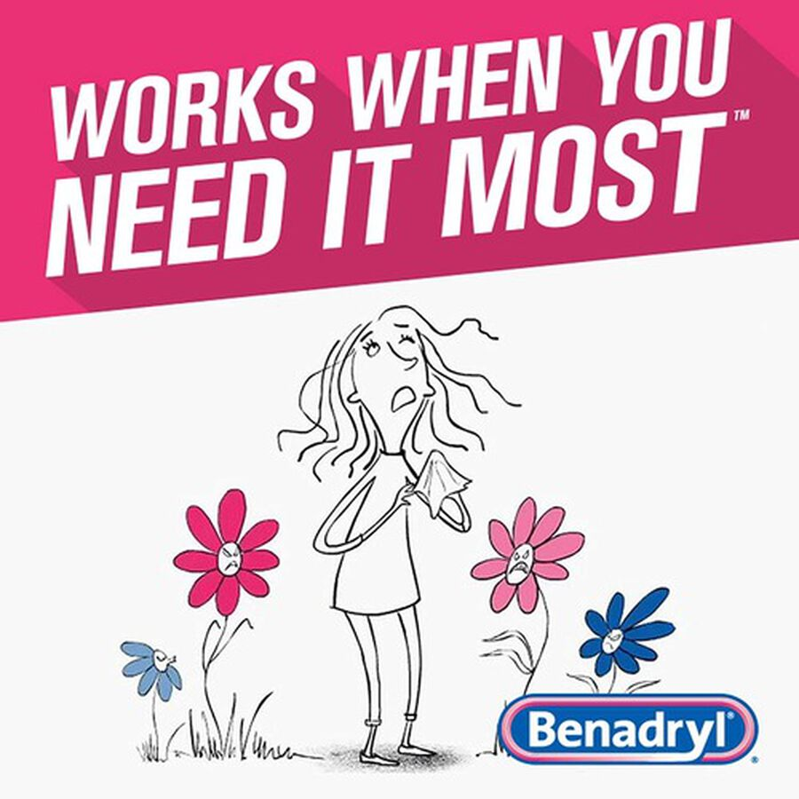 Benadryl Ultra Allergy Relief Tablets, 100 ct, , large image number 5