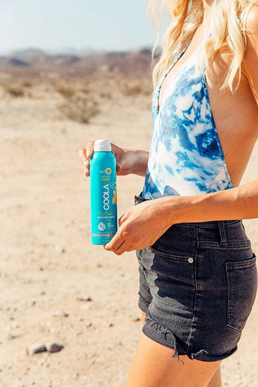 Coola Classic Body Organic Sunscreen Spray SPF 30, Pina Colada, 6oz, , large image number 3