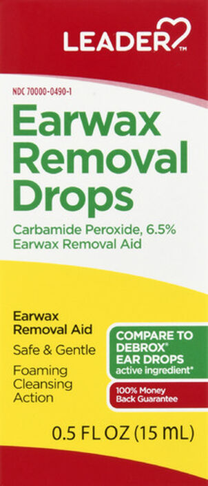 LEADER™ Ear Wax Removal Drops 0.5oz