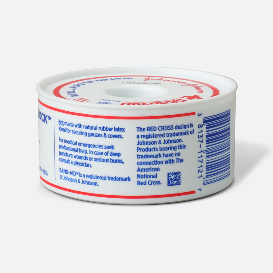 Band-Aid First Aid Water Block Tape - 1ct, , large image number 1
