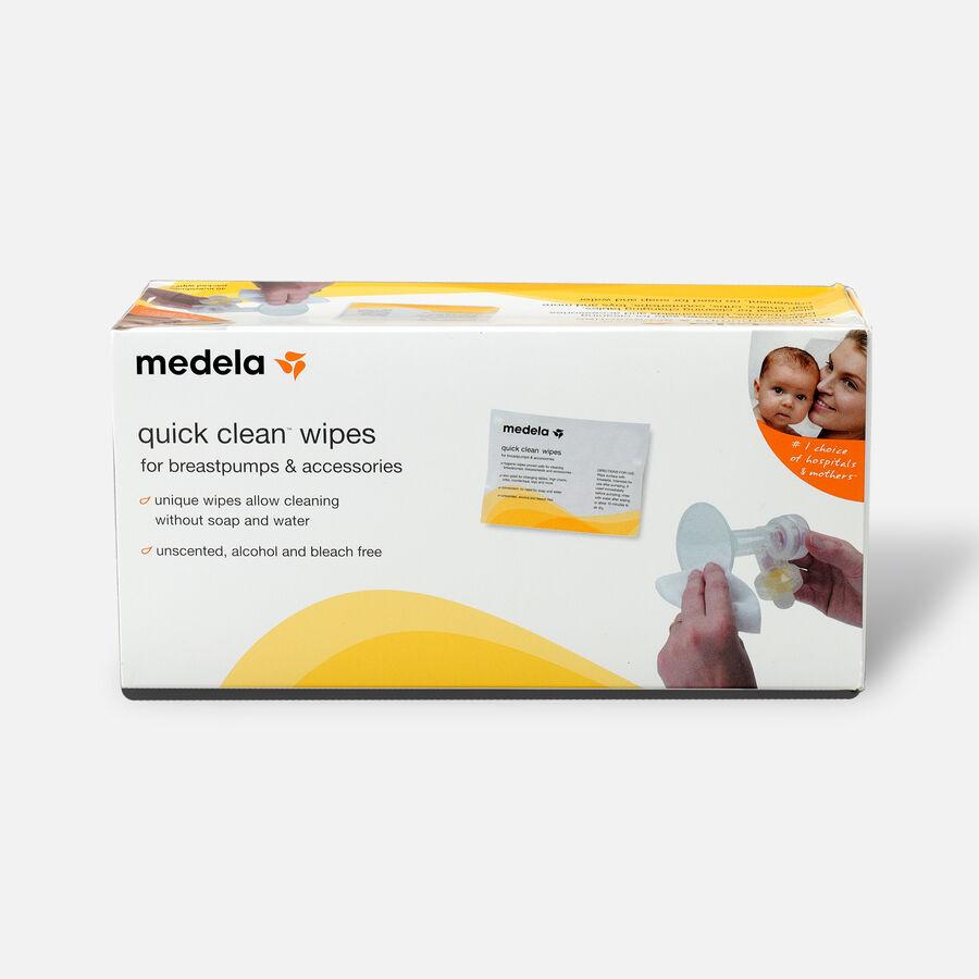 Medela Quick Clean Wipes, 40 ea, , large image number 0