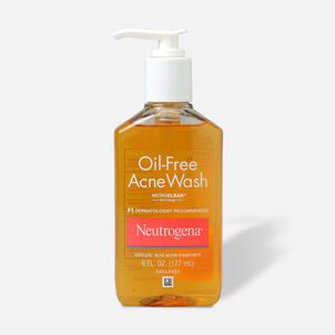 Neutrogena Oil-Free Acne Wash with Salicylic Acid, 6oz.
