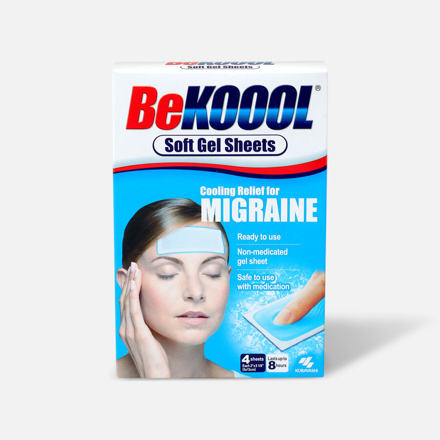 Be Koool Soft Gel Sheets, Adults, 4 ea, , large image number 0
