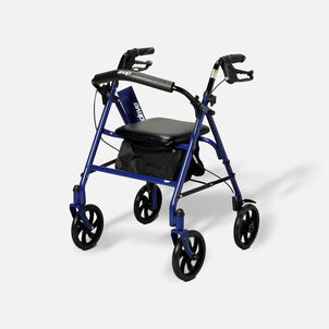 """Drive Durable Four Wheel Rollator, 7.5"""" Casters"""