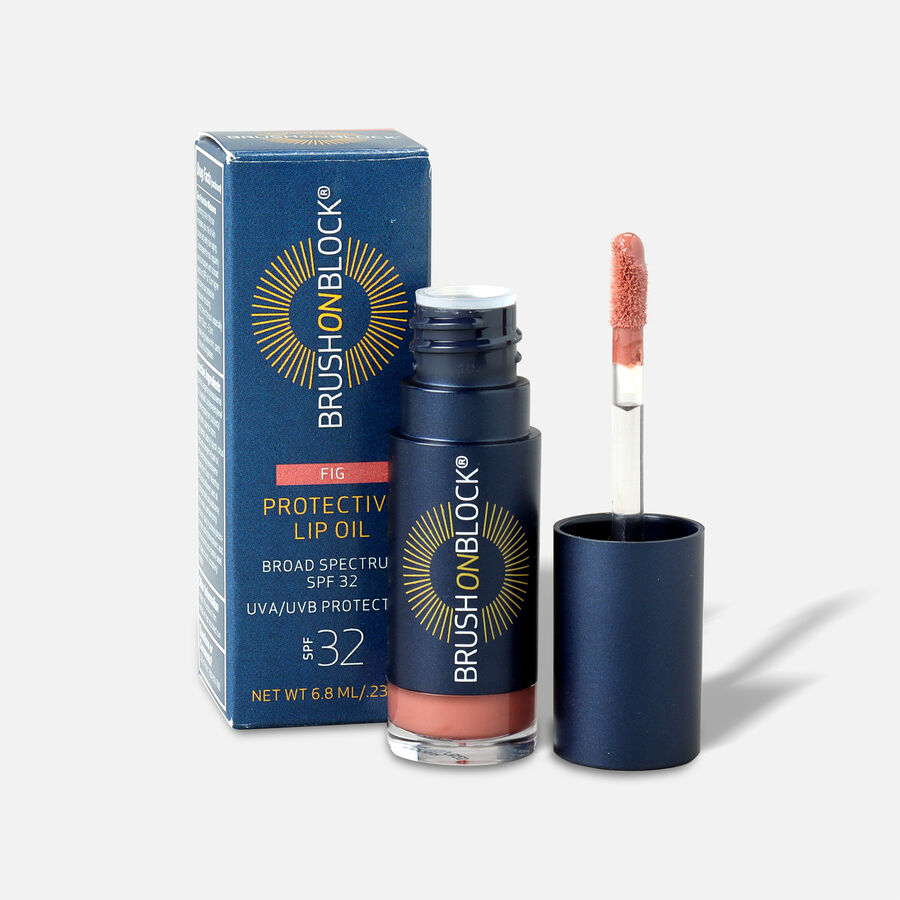 Brush on Block Protective Lip Oil SPF 32, , large image number 1