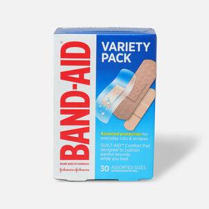 Band-Aid Adhesive Bandages, Variety Pack - 30ct.