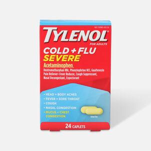 Tylenol Cold + Flu Severe Caplet, 24ct