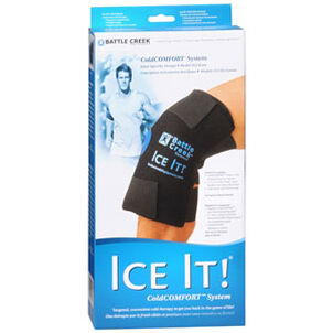"Battle Creek Ice It! Cold Comfort Knee System 12"" x 13"""