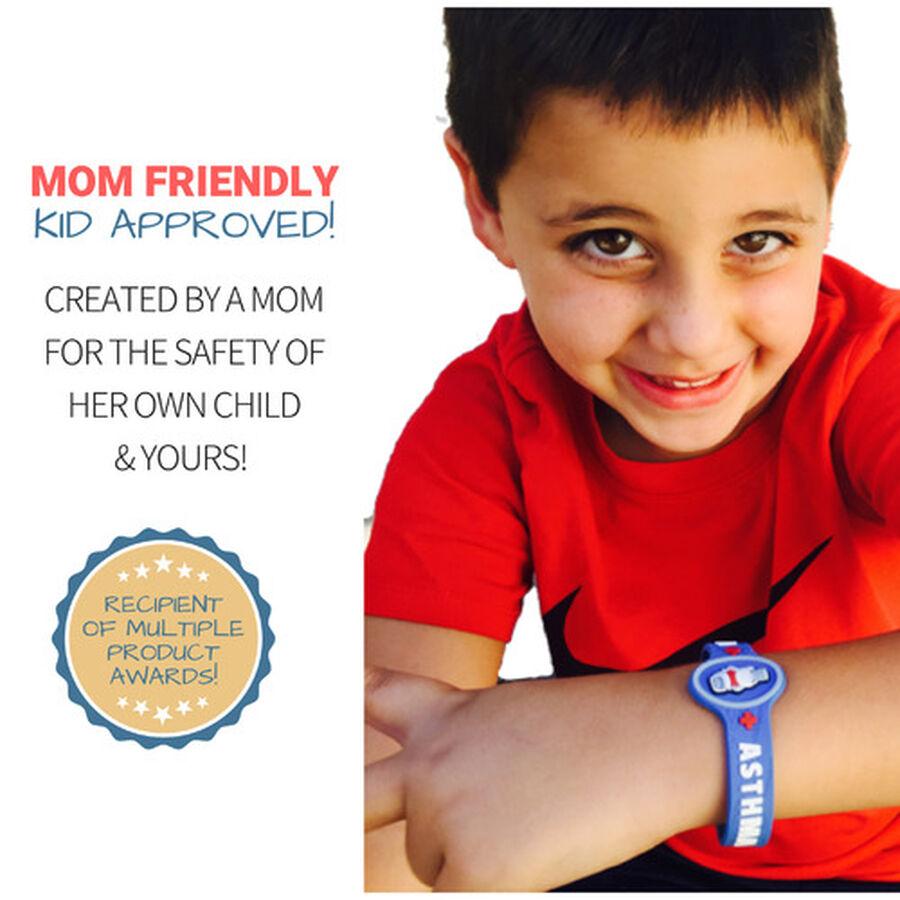 AllerMates Children's Allergy Alert Bracelet - Asthma, , large image number 3