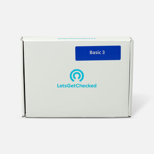 LetsGetChecked Basic 3 STD At Home Test