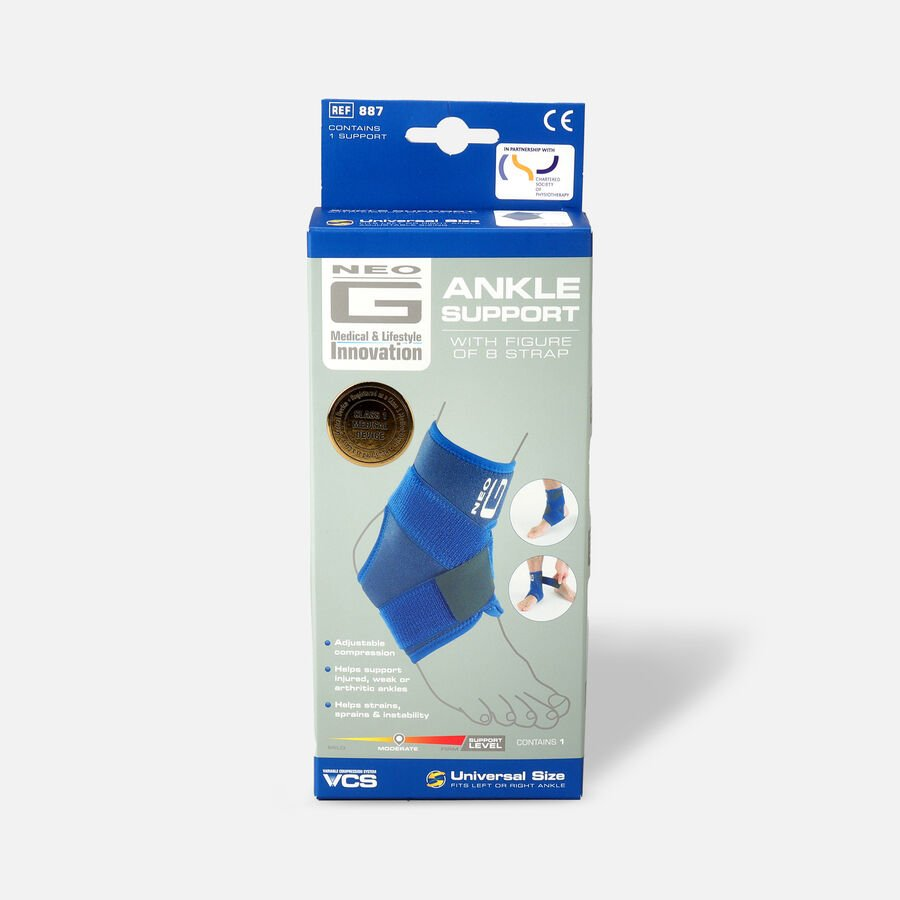 Neo G Figure of 8 Ankle Brace, One Size, , large image number 0