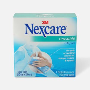 """3M Nexcare Reusable Cold Pack, 4"""" x 10"""""""