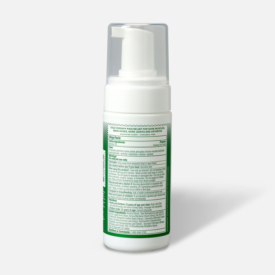 Biofreeze Pain Relief Foam, 3 oz, , large image number 1