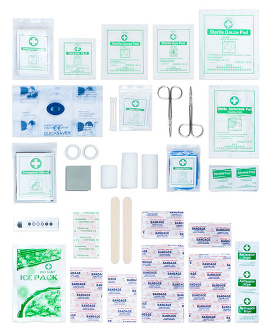 Caring Mill® Comprehensive Family First Aid Kit 228pc, , large image number 3